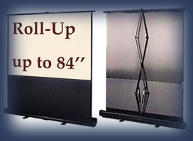 Rent classroom screens, fast fold screen for your audio visual projection