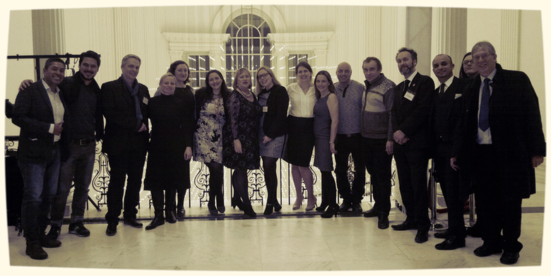 Our team in the Museum of the City of New York with museum personnel and guests of the LUIP